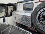 五条筋花纹铝板定制高档房车工具箱