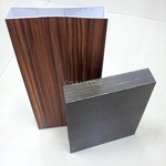 3D木紋鋁方通吊頂裝飾型材