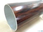 6063木纹打口径铝管