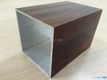 6063木纹铝方通100X3