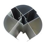 食品加工车间用净化铝型材内圆弧
