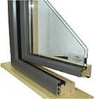 鄭州生產加工鋁木復合門窗鋁型材