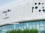 定制穿孔铝单板-外墙冲孔铝板