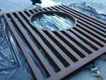 木纹铝花格厂家-仿古铝窗花厂家