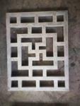 广州木纹铝花格厂家-铝窗花隔断厂