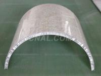 弧型铝蜂窝板吊顶批发价格