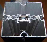 鋁型材展覽方柱