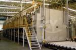 锟棒式铝合金固熔时效生产线