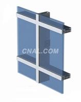 断桥幕墙铝合金,隔热幕墙铝型材