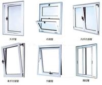 M52隔热断桥内开门窗|铝合金百叶窗