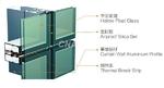 GM150係列明框隔熱框、隱框幕��