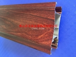 廠家直銷6063鋁型材木紋型材料