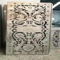 西安雕花鋁單板 外�梴J花鋁板直銷