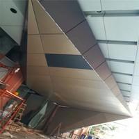 商場外墻氟碳鋁單板 沖孔氟碳鋁單板