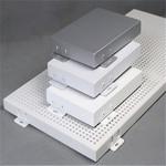 门头招牌氟碳铝单板白色氟碳铝单板环保优质铝单板