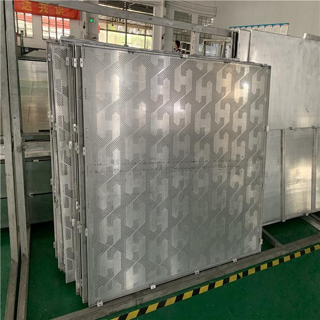衝孔鋁單板烤漆鋁單板訂做廠家