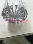 鋁合金梳子型散熱器工業鋁材