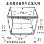 鋁合金電泳白瓷磚柜櫥柜鋁材