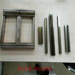 铝合金橱柜晶钢门包边铝材