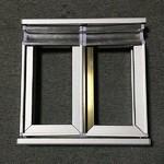 铝合金家居橱柜晶钢门包边铝材