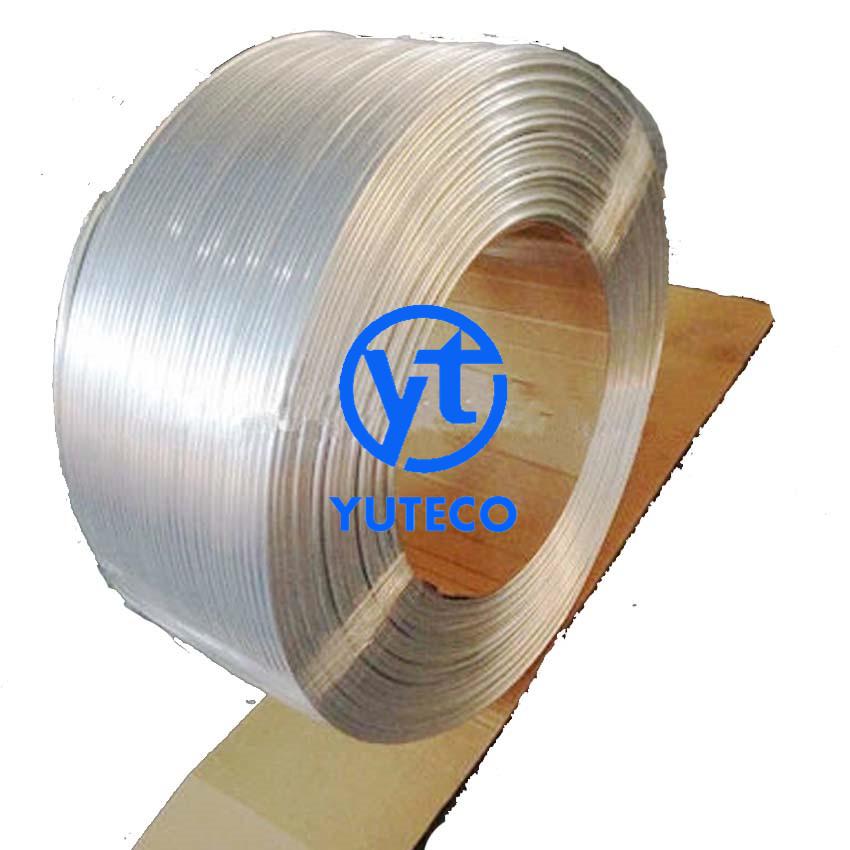 镀铜1060铝盘管4*1铝盘管生产厂家
