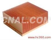 銅型材散熱器散熱片