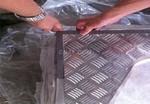 防滑铝板切割折弯价格