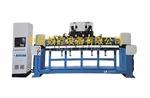 铝模板立式双工位数控多头铣槽机