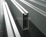 供應鋁方通 木紋鋁方通  型材鋁方管