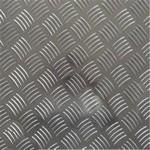 5052防滑铝板 1060五条筋花纹铝板