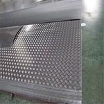 廠家直銷1060鋁板 五條筋花紋鋁板