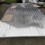 花纹铝板 防滑铝板 五条筋