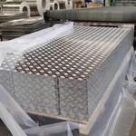 花纹铝板 防滑铝板 五条筋 铝板