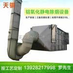 铝型材氧化酸雾净化静电除雾设备