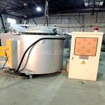 供應800KG鋁合金熔化保溫爐