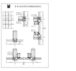 忠旺铝材140系列隔热幕墙系列型材