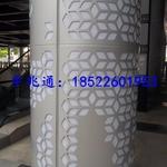天津铝板雕花包柱铝单板