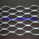 促销菱形拉伸铝板网
