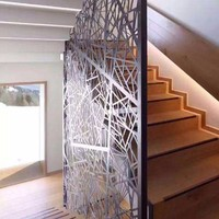 學校樓梯�棜惘Q頂裝飾鋁單板