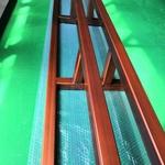 供應倣銅拉絲鋁格柵吊頂