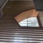 酒店形象墻木紋鋁方通 鋁板廠家