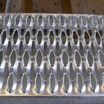供应铝合金鳄鱼嘴防滑板