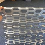 中兆通吸音衝孔鋁瓦楞板定制加工