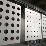 供應鋁合金板衝孔裝飾圖紙加工