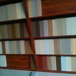 木紋鋁方通走廊裝飾