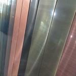售楼中心廊架仿铜拉丝铝板