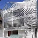 鋁單板階梯造型鋁方通