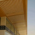 室內吊頂鋁單板吊頂燈槽鋁天花板
