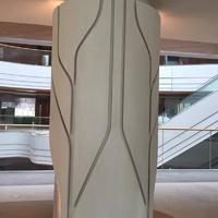 外包柱異型鋁單板幹挂包柱鋁單板