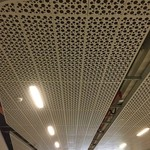 展厅墙面吸音铝天花板吊顶吸音铝板